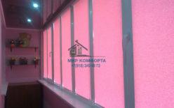 Рулонные кассетные шторы в квартире по ул. Московская