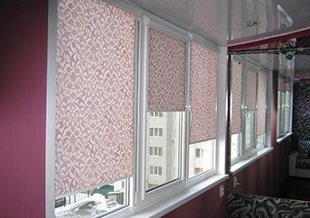 Кассетные рулонные шторы UNI